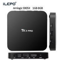 beat media - TV Box Android TX3 PRO Quad Core K TV Box Amlogic S905X G G WIFI HD up to k2k Output KODI16 Media Player Beat TV Box MXQ