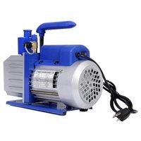 Wholesale New Vacuum Pump Stage CFM HP Rotary Vane Deep HVAC Tool AC R410a R134