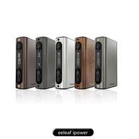 100% auténtico Kit Elef iPower iStick Ipower Mod 5000mAh 510 rosca 1-80W TC Mod VW Bypass Modo Smart TC Matching Melo 3