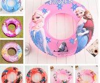 Wholesale 2016 cartoon frozen sofia first spiderman KT CARS cm Inflatable swim ring kid children s bath toy for summer autumn kid gift