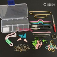 Wholesale Knitting Tools Crochet Yarn Hook Stitch Accessories Supplies With Case Knit Kit