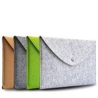 Wholesale Wool Felt Envelope laptop Sleeve Bag Case For MacBook Air Pro Retina quot nich For Macbook quot quot For Macbook quot