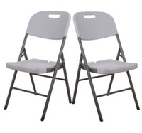 aluminum chair - New pack Folding Chair Set Portable Molded Plastic Banquet Seat Chairs