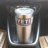 Wholesale Hot Bilayer Stainless Steel Insulation Cup OZ YETI Cups Cars Beer Mug Large Capacity Mug Tumblerful