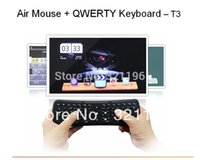 Wholesale G multimedia wireless keyboard T6 and air mouse keyboard for MINI PC for desktop laptop Tablet PC for Google TV IPTV gamepad