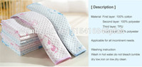 adult washable diaper - 70 cm Baby changing pads water proof baby Diapers Layer Inserts Cotton Washable Reusable Bed sheet adult available