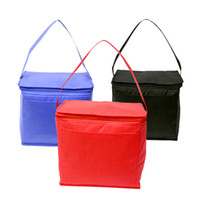aluminum composit - customized promotion cooler bag isulate bag lunch bag picnic bag with non woven MM foam composit aluminum
