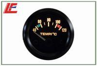Wholesale Details about quot mm Pointer Water Temperature Temp Gauge yellow bulb light Auto gauge new