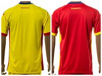 romania-soccer-jersey - Romania Soccer Jersey Custom Personalized Make Customized Team Red Road Yellow Football Shirt Uniform Kits Foot Tshirt