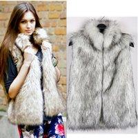 artificial fur coats - New Winter Fur Vest Imitation Fur Vest Artificial Fur Coat Vest Winter Coat Jacket Casual Loose Top