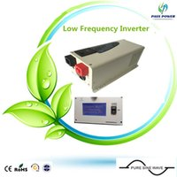 Cheap LCD display Inverter 3000W 24v 48vdc to 230v 240vac Pure Sine Wave Off Grid Solar Invertor 3kw for Air Conditioner