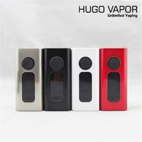 Wholesale 2016 Original Hugo Vapor Boxer TC160 W Box Mod E cigarette Temperature Control TC VV VW Vape Mods Support ohm Resistance Colis Tanks