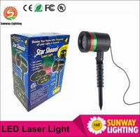 auto tree - Star shower mW Red Green Laser christmas lights AC110 V thousands laser spot for garden Christmas tree decoration US EU AU Plug