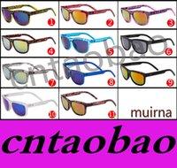 Precio de Snake skin-11 colores Las últimas gafas de sol del bloque de Ken de las gafas de sol de los reflectores del muirna deslumbran color El estilo caliente de la venta para los hombres y las mujeres ayuna nave