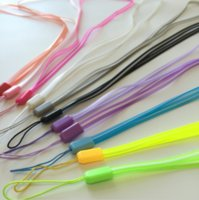 Wholesale Universal Transparent PVC Dual Colors Lanyard For Phone Charm Cord Hang Rope Lariat Lanyard Strap For MP3 Camera Cell Phone ID Card CM