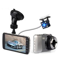 Wholesale Original H801B Car DVR Video Recorder P fps Dual Camera inch Degree Angle Loop Video Recorder WDr Microphone