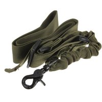 Wholesale Gracetop Tactical Rifle Gun One Single Point Bungee Sling System Army Green Adjustable