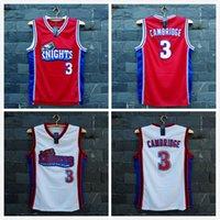basketball movie - With Logo name Stitched TIM VAN STEENBERGEB Knights CAMBRIDGE movie Basketball Jersey Hot fashion Sport Retro