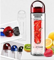 Wholesale 700ML Fashion Flesh Fruit Fuzer Infusing Infuser Water Bottle Sports Fitness Health Juice maker Cycling Camping Hiking Running