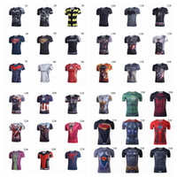 ant spider - 45styles Avengers print D t shirt Ant Man Batman spider man captain America super heroes Breathable T shirt t shirts for men BY DHL