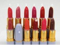 Wholesale 100Pcs LUSTRE Lipstick professional makeup Cinderella Lipstick cosmetic batom colors