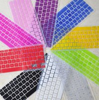 Wholesale colorful macbook pro silicone keyboard cover inch waterproof dustproof colors