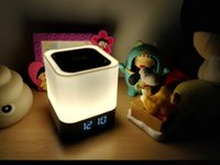 alarm bank - Portable Bluetooth speaker with U play line connect to TV computer tablet DY28 is also power bank and alarm and table night light