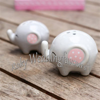 baby gift set ideas - Sets MOMMY AND ME Little Peanut Elephant Salt and Pepper Shaker Party Gifts Great Baby Shower Decor Ideas