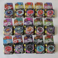 Wholesale 24pcs Rapidity Beyblade Battle New Beyblade Gyro Beyblade Spinning Top Toy Beyblade Metal Fusion Without Launcher S20