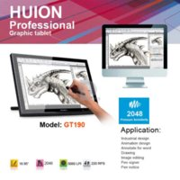 Wholesale EMS Original HUION GT Digital Graphics Tablet Monitor quot LCD x900 Interactive Display Touch Screen Drawing Tablet