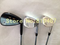 Wholesale golf clubs SM5 degree black Silver Champagne with steel shaft SM5 golf right hand