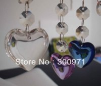 Wholesale NEW ARRIVAL HOT PRODUCTS mm Heart shape crystal curtain pendants crystal chandelier pendants crystal chandelier pendant