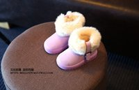 beautiful sports girls - New cartoon PU baby winter boots beautiful bowknot years girl fashion warm boots boy leisure sports shoes pair B1