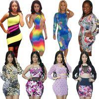 africa america - Europe America Africa Casual Dresses Mix Batch The Elegant Sexy Club Dresses Female Fashion Street Bodycon Dresses DHL