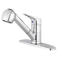 Wholesale Swivel Spout Sink Single Handle Mixer Tap Pull Out Spray Kitchen Faucet