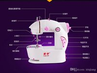 automatic embroidery machine - Hot Multifunction Electric Mini Automatic Thread Rewind Sewing Machine Dual Speed Double Thread with Power Household Desktop