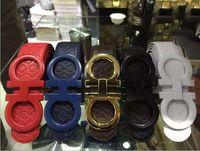 Wholesale Fashion new2016 designer belts men high quality Big buckle ferragi amo belt summer style mens belts luxury belts for women