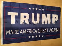 Wholesale Fedex DHL Free Donald Trump x5 Foot Flag Make America Great Again Donald for President USA L331