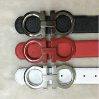 Wholesale New luxury fashion designer series smooth Buckle mens belts luxury leather belt men summer style belts for Men via EUB