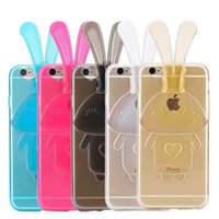 apple bunnies - Bunny cases with TPU falling kickstand mobile phone shell for iphone G S SE G S Plus G Plus mobile phone cases