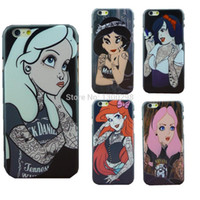 For Apple iPhone apples tattoo - Tattoo Ariel Little Mermaid Protective Cover Case For Apple i Phone iPhone6 iPhone inch