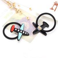 airplane hair - Fashion Korean Cute Dot Small Airplane Hair Rope Candy Colors Hair Accessories Rubber Band For Women amp Girls Accessories