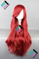 ariel costume accessories - Ariel Wig The Little Mermaid Wig Ariel Cosplay Wig Red Womens The Little Mermaid Cosplay Wigs