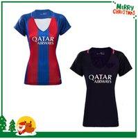 barcelona women jersey - women Barcelona MESSI jersey A INIESTA SUAREZ SERGIO PIQUE I RAKITIC NEYMAR JR Football Shirt