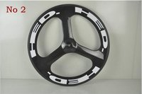Wholesale 20inch spoke bmx wheels clincher HED road wheelset tri spoke carbon wheelset for sale
