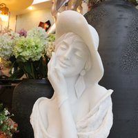 antique marble sculpture - Women Bust Marble Bust Statue Marble Carved Lady Bust Statue Sculpture made in China for sale