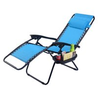 Wholesale Folding Zero Gravity Reclining Lounge Chairs Outdoor Beach Patio Utility Tray