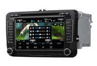 AS-610 dedicado para el din 7 del dinar 2 de la navegación del coche DVD de Wince 6.0 de VW con Bluetooth IPOD TV Radio / RDS AUX EN DVR Mirrorlink