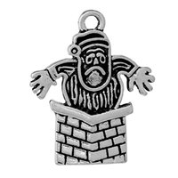 antique chimney - Charm Pendants Christmas Santa Claus Chimney Antique Silver mm quot x mm quot new jewelry making DIY