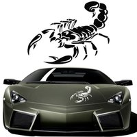 audi material - D Cute Scorpion Motorcycle Car Stickers and Decals Car Styling Stickers Funny Car Stickers For BMW VW Audi Ford Toyota Stickers